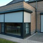 PVC rolluiken veranda